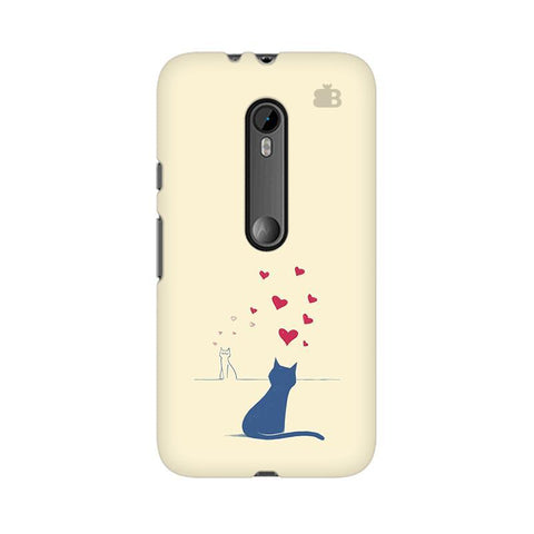 Kitty in Love Moto G3 Phone Cover