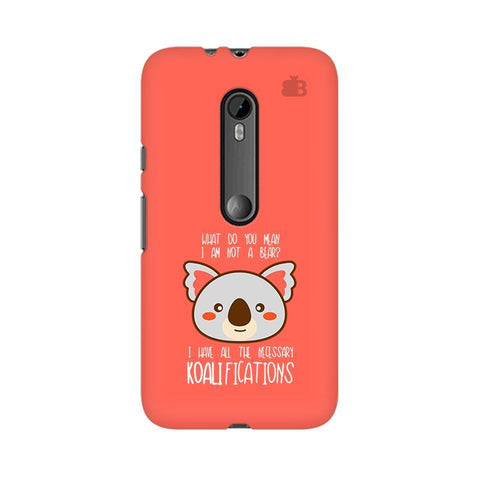Koalifications Moto G3 Phone Cover