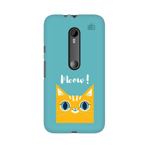 Meow Moto G3 Phone Cover