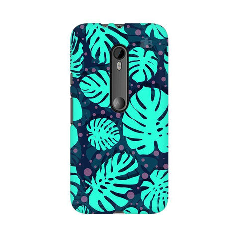 Tropical Leaves Pattern Moto G3 Phone Cover