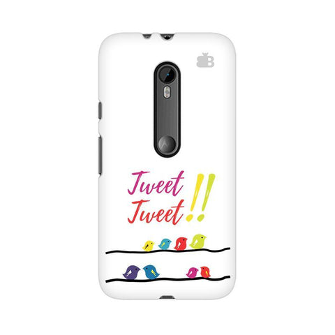 Tweet Tweet Moto G3 Phone Cover