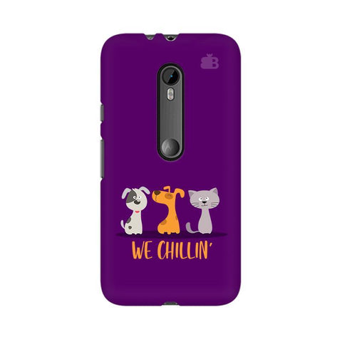 We Chillin Moto G3 Phone Cover