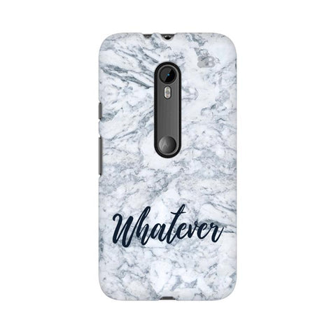 Whatever Moto G3 Phone Cover