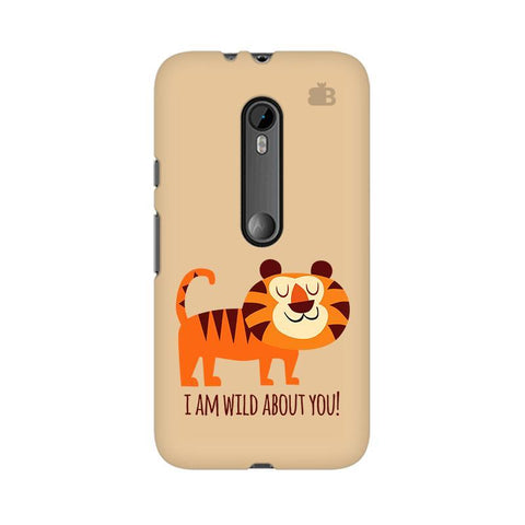 Wild About You Moto G3 Phone Cover