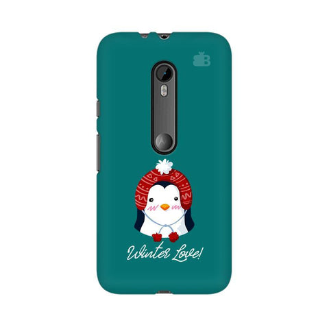 Winter Love Moto G3 Phone Cover