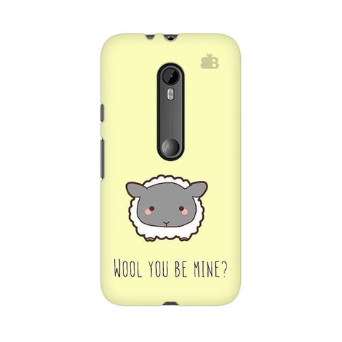Wool Moto G3 Phone Cover