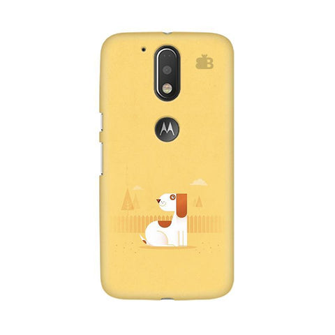 Calm Dog Moto G4 Phone Cover