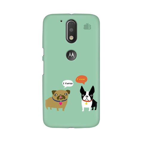 Cute Dog Buddies Moto G4 Phone Cover