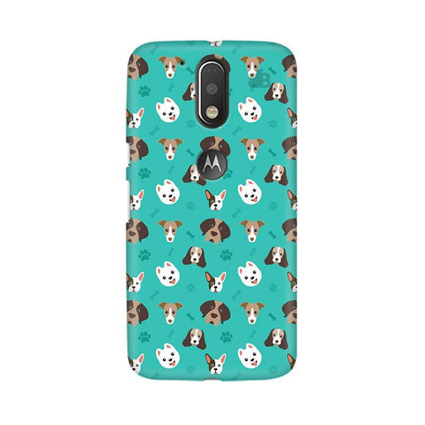 Doggie Pattern Moto G4 Phone Cover