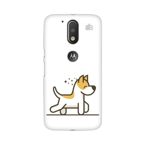 Happy Puppy Moto G4 Phone Cover