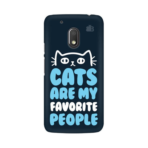 Cats favorite People Moto G4 Play Phone Cover