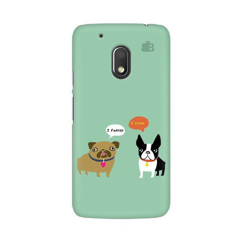 Cute Dog Buddies Moto G4 Play Phone Cover