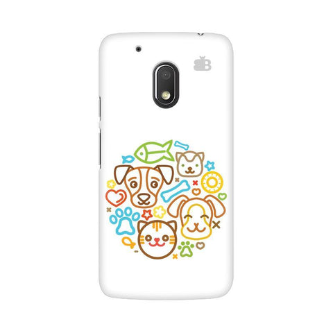 Cute Pets Moto G4 Play Phone Cover