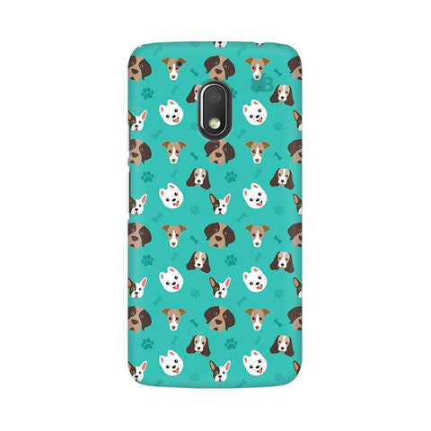 Doggie Pattern Moto G4 Play Phone Cover