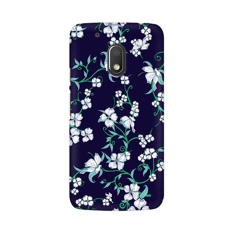 Dogwood Floral Pattern Moto G4 Play Phone Cover