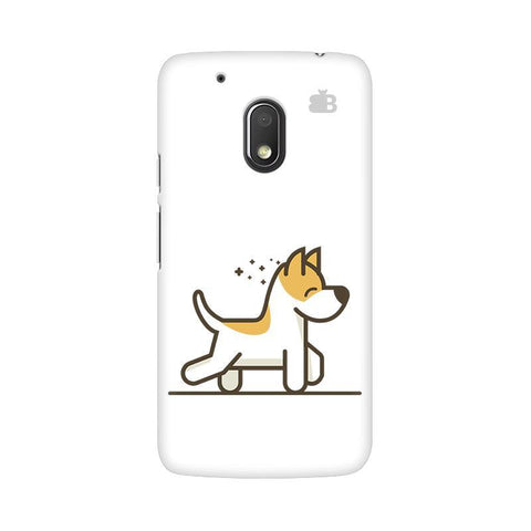 Happy Puppy Moto G4 Play Phone Cover