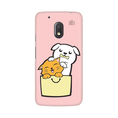 Kitty Puppy Buddies Moto G4 Play Phone Cover