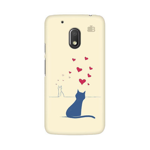 Kitty in Love Moto G4 Play Phone Cover