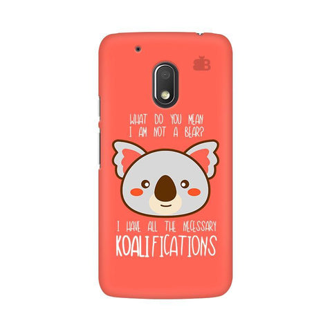 Koalifications Moto G4 Play Phone Cover