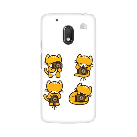 Photographer Kitty Moto G4 Play Phone Cover