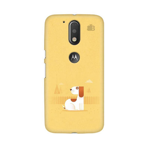 Calm Dog Moto G4  Plus Phone Cover