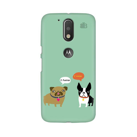 Cute Dog Buddies Moto G4  Plus Phone Cover