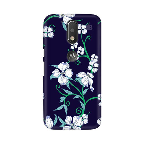 Dogwood Floral Pattern Moto G4  Plus Phone Cover