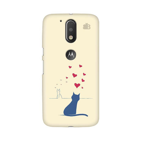 Kitty in Love Moto G4  Plus Phone Cover