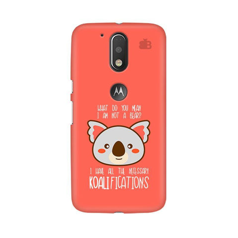 Koalifications Moto G4  Plus Phone Cover