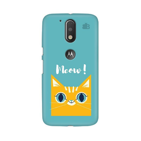 Meow Moto G4  Plus Phone Cover