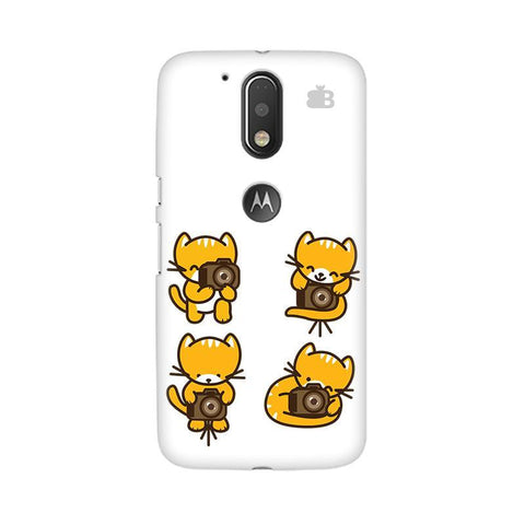 Photographer Kitty Moto G4  Plus Phone Cover