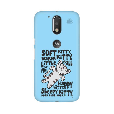 Soft Kitty Moto G4  Plus Phone Cover
