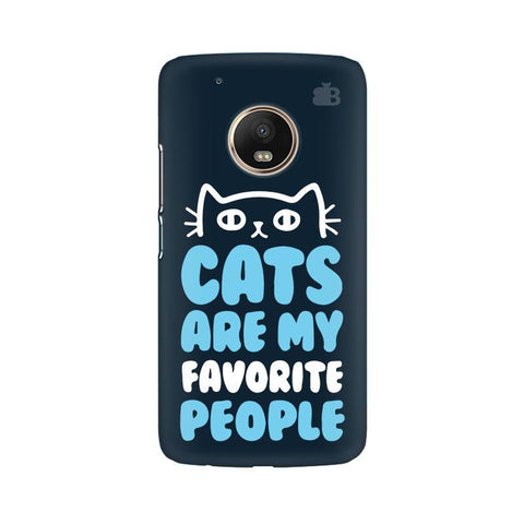 Cats favorite People Moto G5 Phone Cover