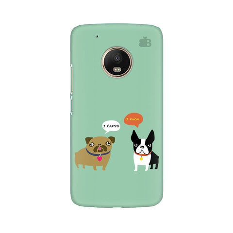 Cute Dog Buddies Moto G5 Phone Cover