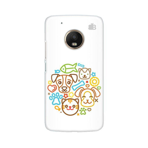 Cute Pets Moto G5 Phone Cover