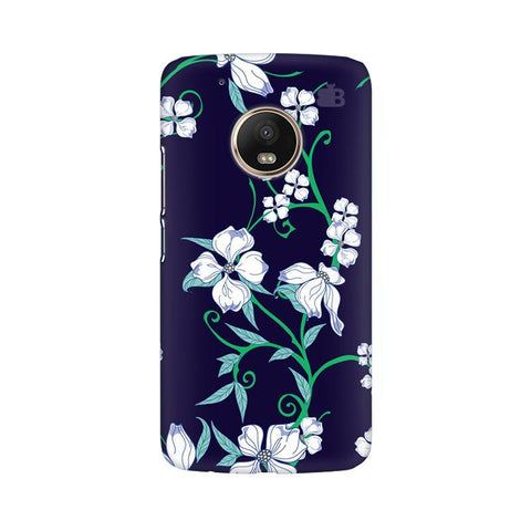 Dogwood Floral Pattern Moto G5 Phone Cover