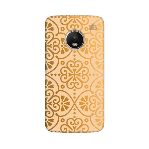 Ethnic Gold Ornament Moto G5 Phone Cover