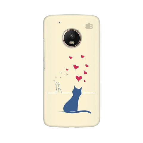 Kitty in Love Moto G5 Phone Cover