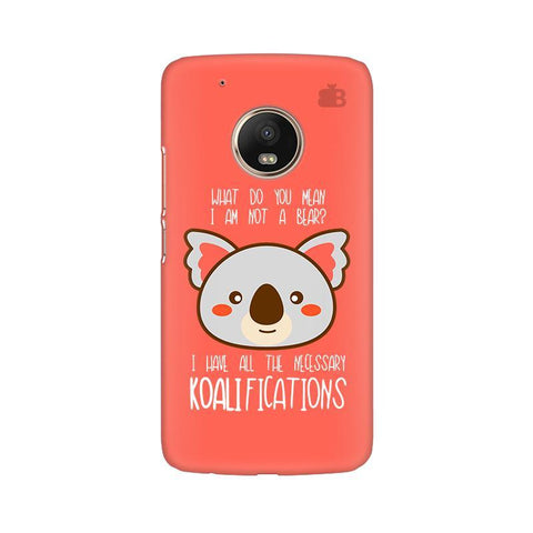 Koalifications Moto G5 Phone Cover
