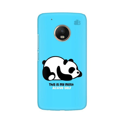 Most Active Panda Moto G5 Phone Cover
