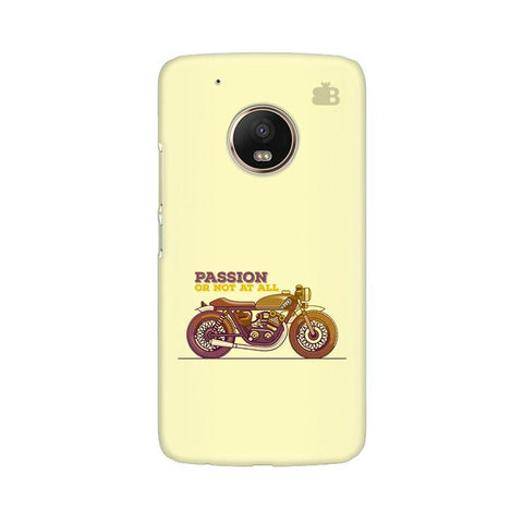 Passion for Motor Moto G5 Phone Cover