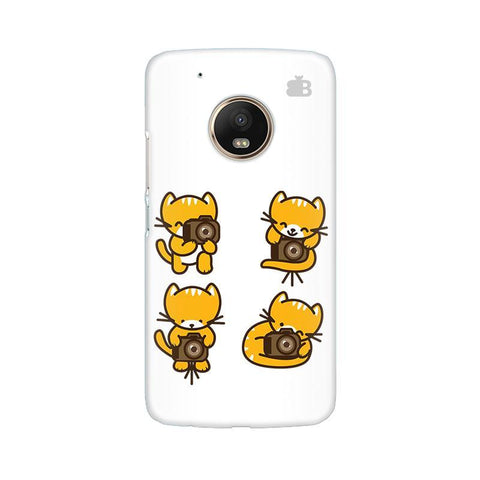 Photographer Kitty Moto G5 Phone Cover