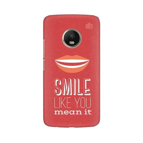 Smile Moto G5 Phone Cover