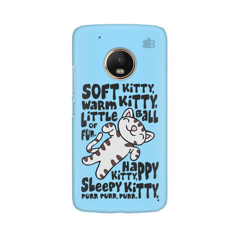 Soft Kitty Moto G5 Phone Cover