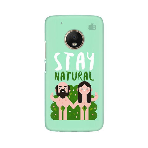 Stay Natural Moto G5 Phone Cover