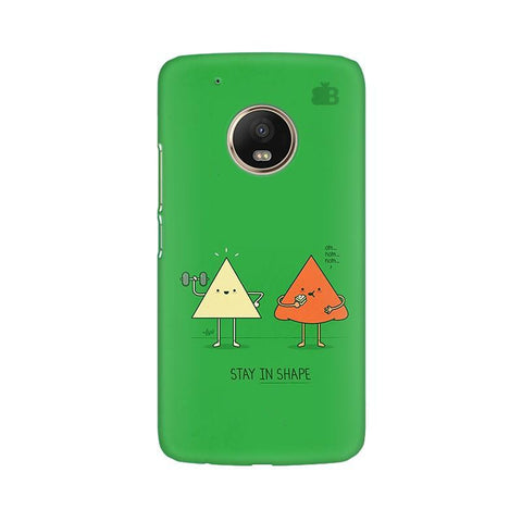 Stay in Shape Moto G5 Phone Cover