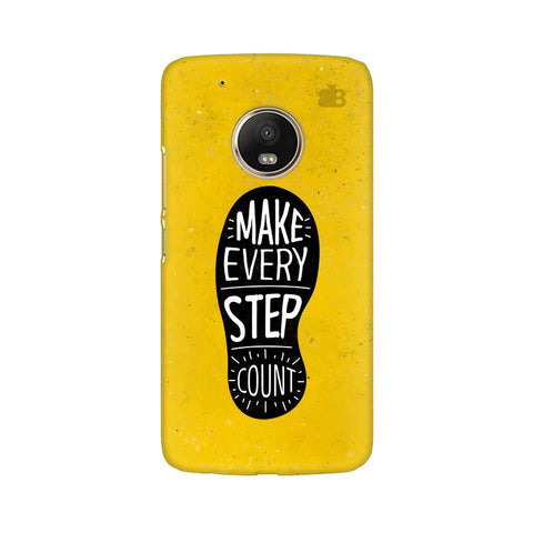 Step Count Moto G5 Phone Cover