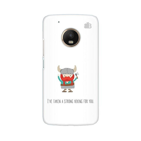 Strong Viking Moto G5 Phone Cover