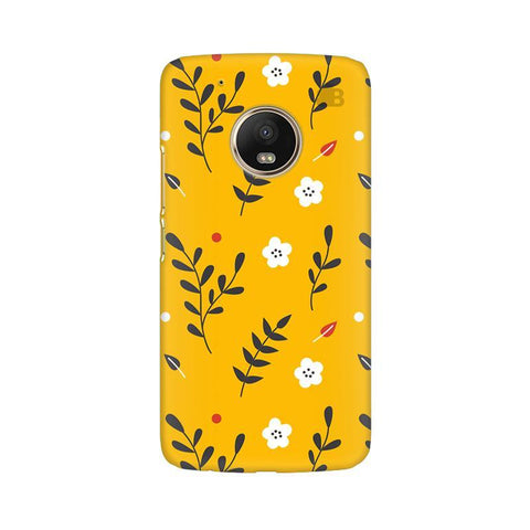 Summer Floral Pattern Moto G5 Phone Cover