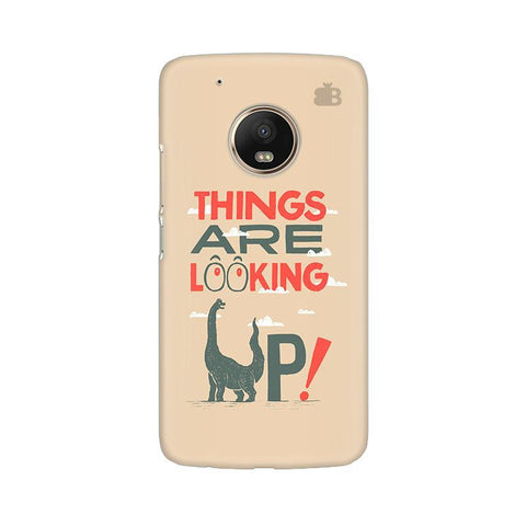 Things are looking Up Moto G5 Phone Cover